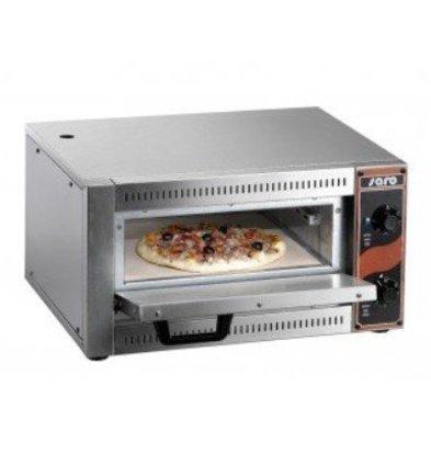 Saro Four à Pizza | 1 Pizza Ø330mm | 230V/2,5kW | 530x430x290(h)mm