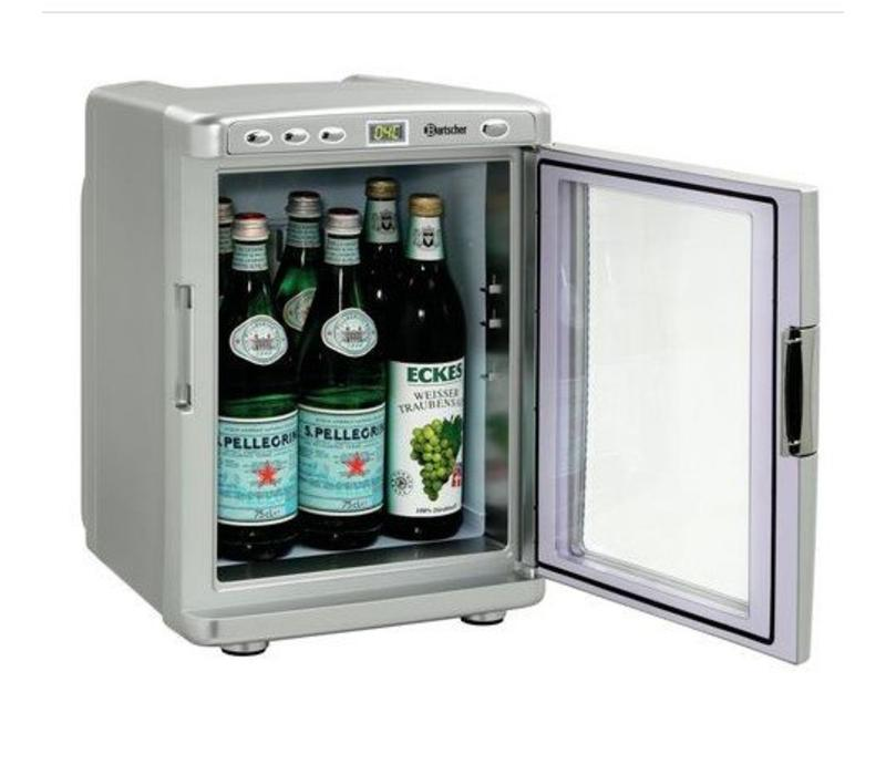 Bartscher Frigo de Chambre Mini | 19 Litres | Corps Plastique | 330x370x460(h)mm