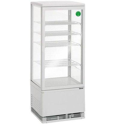 Bartscher Mini Vitrine Réfrigérée | 98 Litres | 4 Grilles | 420x380x1100(h)mm