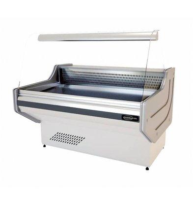 Combisteel Vitrine Réfrigérée Blanc | +1/+10°C | Disponibles en 4 Tailles