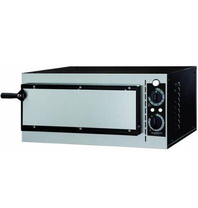 Combisteel Four à Pizza Électrique | 230V | 1 Pizza Ø320mm | 568x500x280(h)mm