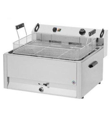 Combisteel Friteuse Électrique | Beignets/Poisson | 30 Litres | 400V/15kW |670x650x370(h)mm