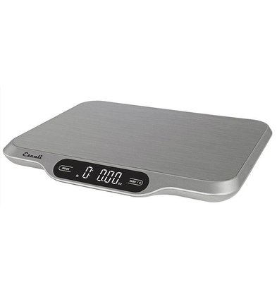 Escali Balance Digitale | Modèle Ultra bas | Max. 15Kg/ 1gr