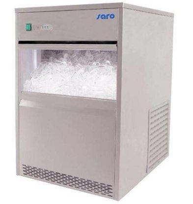 Saro Machine à Glaçons INOX | 26Kg/24h | Stockage 6kg | PROMOTION XXL!