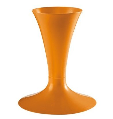 Emga Support à Poches | Plastique Orange | Ø20x24cm
