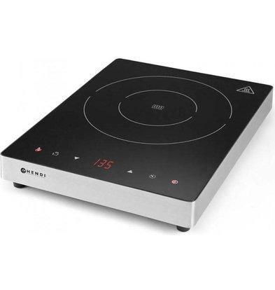 Hendi Plaque De Cuisson à Induction 2000W Display Line | 35-240°C | 293x373x(H)56mm