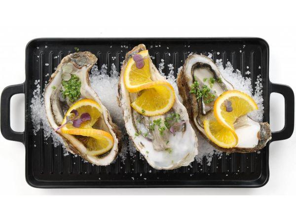Hendi Little Chef Mini Plaque à Griller | Mélanine | 320x162x(H)20mm