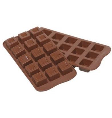 Emga Moule à Chocolat CUBO | Silicone | 220x110mm
