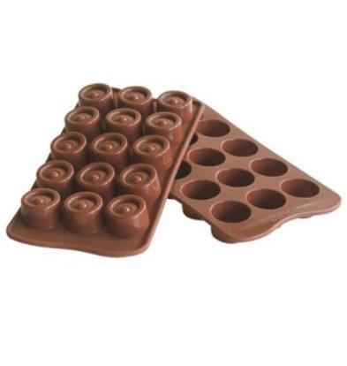 Emga Moule à Chocolat VERTIGO | Silicone | 220x110mm