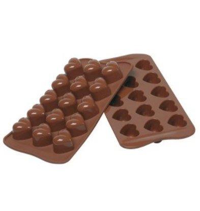 Emga Moule à Chocolat MONAMOUR | Silicone | 220x110mm