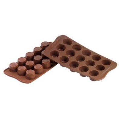 Emga Moule à Chocolat PRALINE | Silicone | 220x110mm