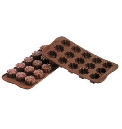 Emga Moule à Chocolat FLEURY | Silicone | 220x110mm