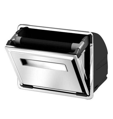 Ronda Bac à Marc de Café INOX - 8 Litres | Simple Basculant | Ronda AG12 | 233x377x299(h)mm