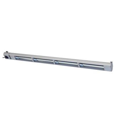 Roband Lampe Chauffante Infrarouge | 1800W | Dim. 1800mm | avec Intérrupteur!