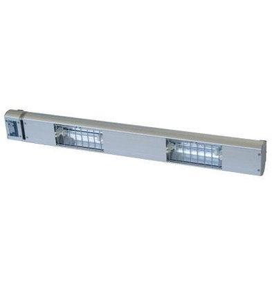 Roband Lampe Chauffante à Quartz | 2 Lampes Integrées/ 700W | Dim. 900mm | avec Intérrupteur!