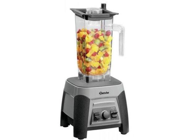 Bartscher Mixeur Blender Pro   2,5 Liter   1500W   Godet Plastique  Transparent   225x225x555(h)mm