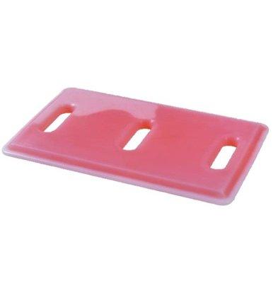 Melform Plaque Eutectique GN1/1 | Rouge | +3°/-10°C | 530x325x30(h)mm