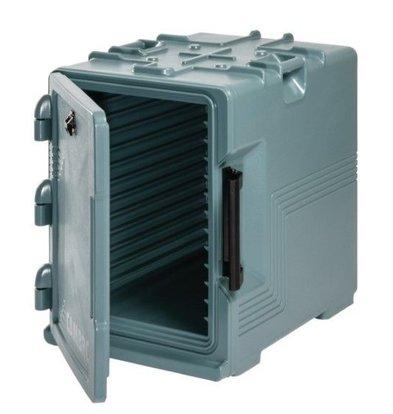 Cambro Conteneur à Provisions Isolé - Cambro - Bleu Ardoise - 460(l)x630(p)x635(h)mm