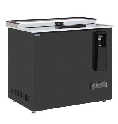 Polar Refroidisseur à Bouteilles Verrouillable | 279 Litres | Acier Peint | DIGITAL | 935x687x888(h)mm