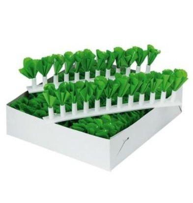 Emga Séparateurs de Vitrine Vert | Decoration Plastique