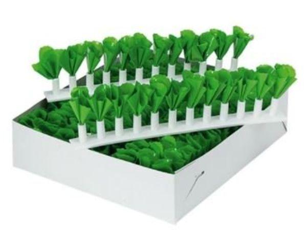 Emga Séparateurs de Vitrine Vert   Decoration Plastique