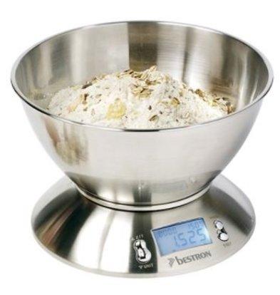Emga Balance de Cuisine INOX | 5kg/1gr.