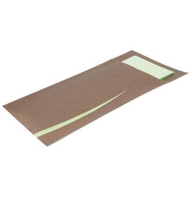 CHRselect Pochette à Couverts Bari Marron | Jetable | Lot de 125 - Copy