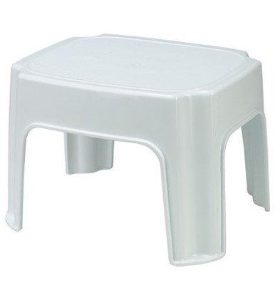 Emga Escabeau Plastique Blanc | Vendu par Pièce