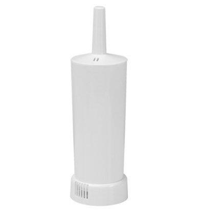Emga Brosse de Toilettes | Plastique Blanc | Vendu par Pièce