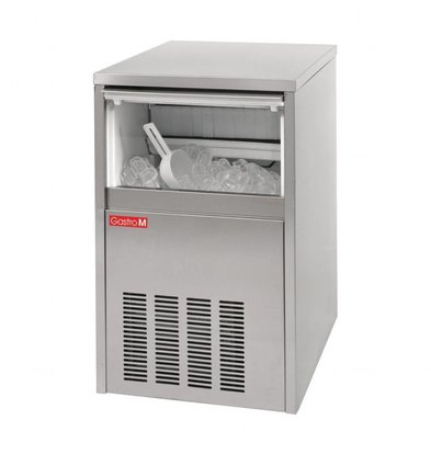 Gastro M Machine à Glaçons INOX | 20Kg/24H | Gastro M | 400x400x650(h)mm