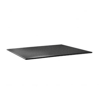 Topalit Plateau de Table Rectangulaire   Topalit Smartline   120X80cm   Anthracite