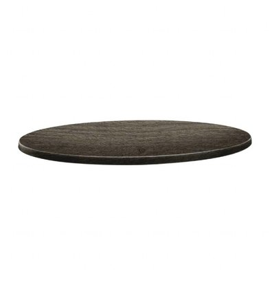 Topalit Plateau de Table Rond | Topalit Classic Line | Timber | Disponible en 3 tailles