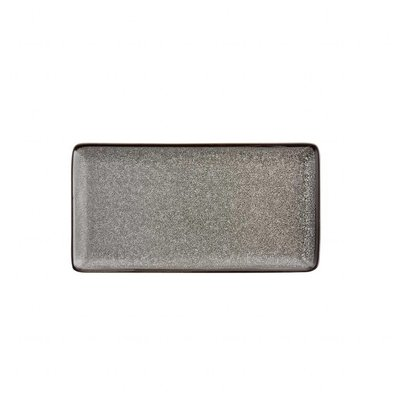 Olympia Assiettes Rectangulaires Olympia Mineral | 120x230mm | Lot de 6