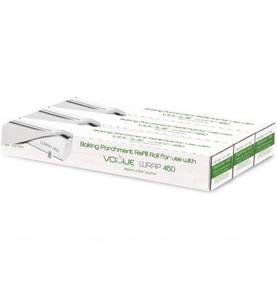 Voque Rouleaux de Papier Cuisson pour Distributeur Wrap450 | 300M | Vogue