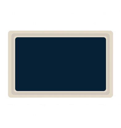 Roltex Plateau de Service en Mélamine | Roltex | Gn1/1 | 530X325mm | Disponible en 3 couleurs
