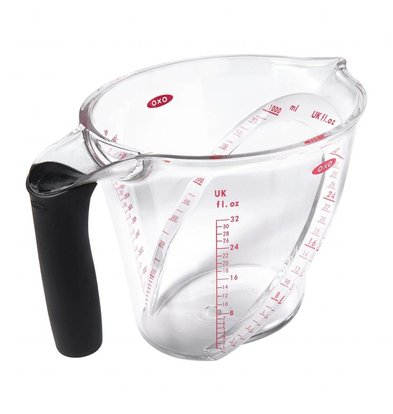 OXO Pichet Mesureur Incurvé | Oxo Good Grips | 1L