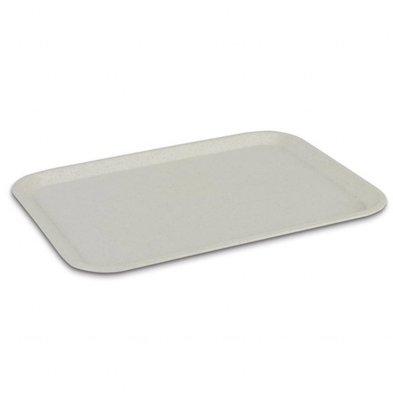 Roltex Plateau de Service en Polyester | Roltex | Gn1/2 | 325X265mm | Blanc Perle