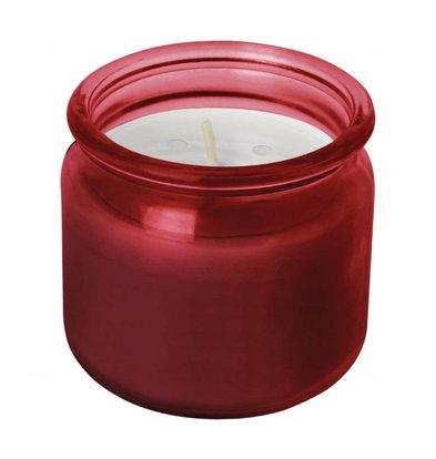 Olympia Bougies Pots en Verre Rouges | 24 Hrs | Lot de 12