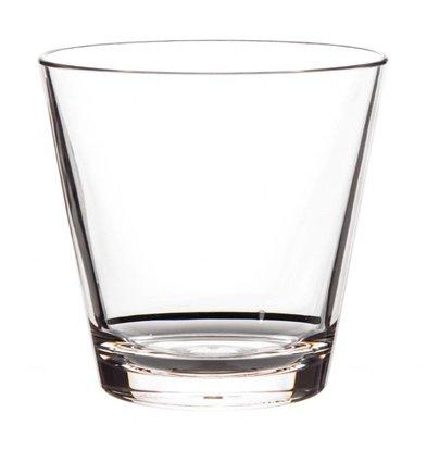 Roltex Verre à Whisky en Plastique | Sans Bpa | Roltex | 350ml | (h)92xØ96mm