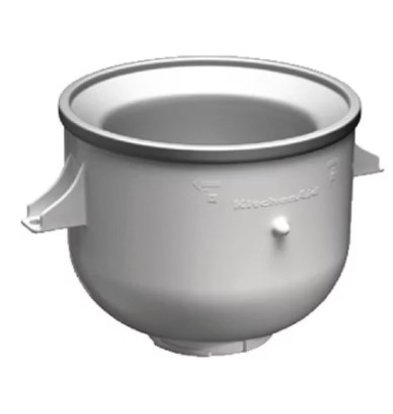 KitchenAid Accessoire Crème Glacée Kitchenaid | Pour Mixeurs Kitchenaid  5KPM5BER 5KS45SSBWH 5KPM5BWH