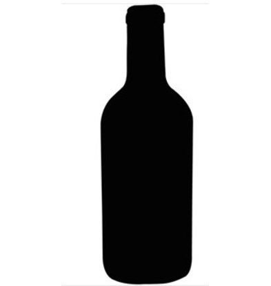 CHRselect Ardoise Bouteille de Vin | Securit | avec Marqueur | 500(H)x 150(L)mm