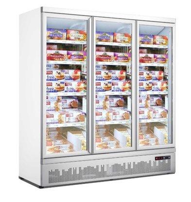 Combisteel Vitrine Congelée   3 Portes   1450 Litres   Statique avec Ventilateur   1880x710x(h)1997mm