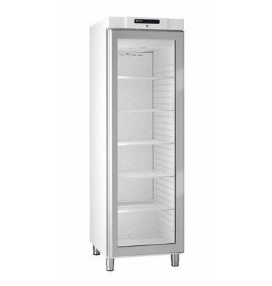 Gram Réfrigérateur | Blanc |avec Porte en Verre | Gram COMPACT KG 410 LG L1 6W | 346L | 595x640x1875(h)mm