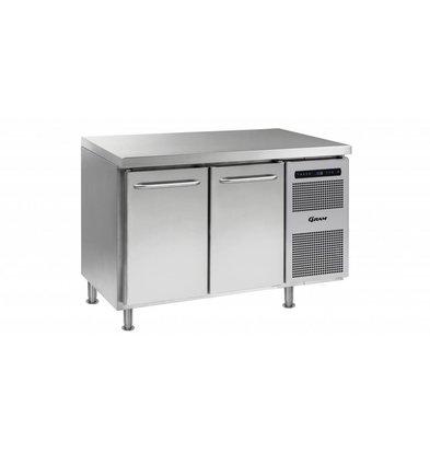 Gram Comptoir Réfrigérateur 2 Portes   Gram GASTRO 07 K 1407 CMH AD DL   DR LM   345L   1289x700x884(h)mm