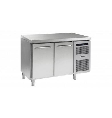 Gram Comptoir Réfrigérateur 2 Portes   Gram GASTRO 07 K 1407 CSG A DL   DR L2   345L   1289x700x885   950(h)mm