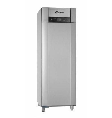 Gram Réfrigérateur + Réfrigérateur Basse Température | Argent | Gram SUPERIOR PLUS M 72 RCG L2 4S | 477L | 720x905x2125(h)mm