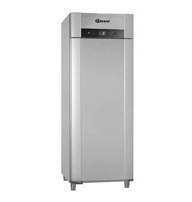 Gram Réfrigérateur + Réfrigérateur Basse Température | Argent | Gram SUPERIOR TWIN M 84 RCG L2 4S | 614L | 840x785x2125(h)mm