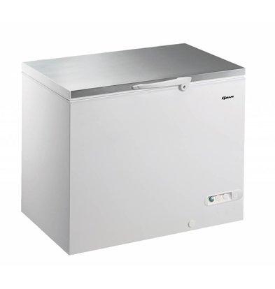 Gram Congélateur coffre couvercle en INOX | Gram CF 35 S | 347L | 1050x730x860(h)mm