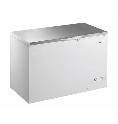 Gram Congélateur coffre avec couvercle en INOX | Gram CF 45 S | 447L | 1300x730x860(h)mm