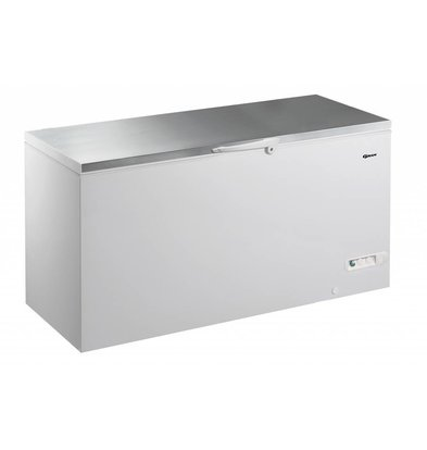 Gram Congélateur coffre avec couvercle en INOX | Gram CF 61 S | 607L | 1700x730x860(h)mm